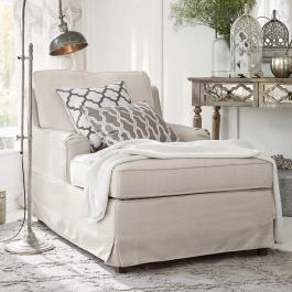 Chaiselongue Myersville creme