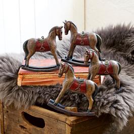 Deko-Pferde 4er Set Cory