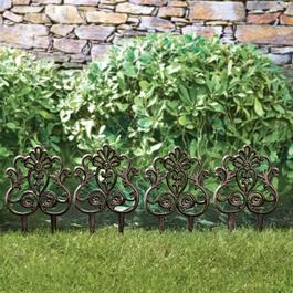 Garten-Ornament 4er Set Rouet