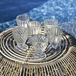 Glas 6er Set Harmonville