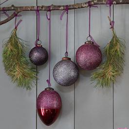 Weihnachtsschmuck 4er Set Ilva
