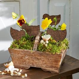 Garten-Ornament 4er Set Tiago