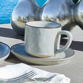 Tasse mit Untertasse 6er Set Biarré