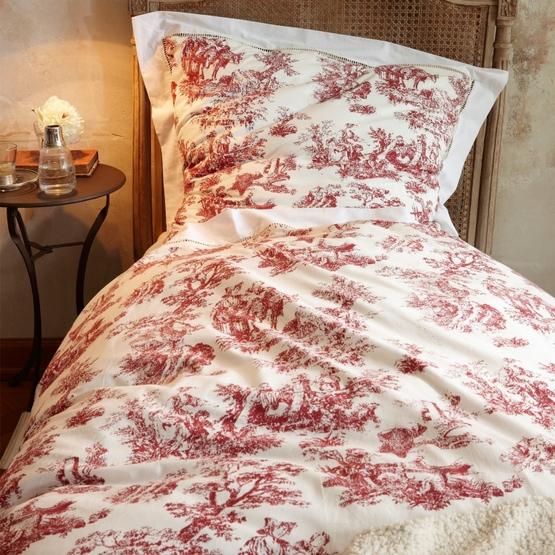 Bettwäsche Toile rouge