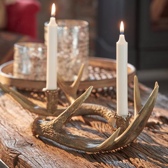 Kerzenhalter 2er Set Horm