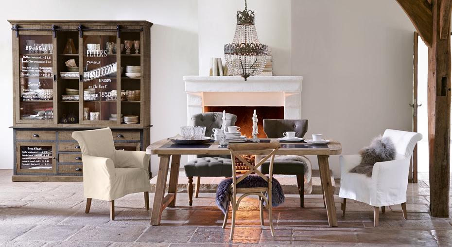 Dining im Country-chic