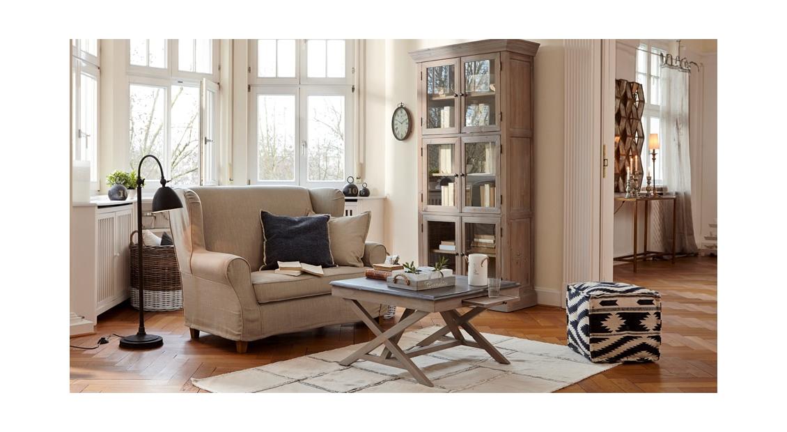 Wohnzimmer Landhaus einrichtungsidee zauberhaftes landhaus-wohnzimmer mit dem gewissen