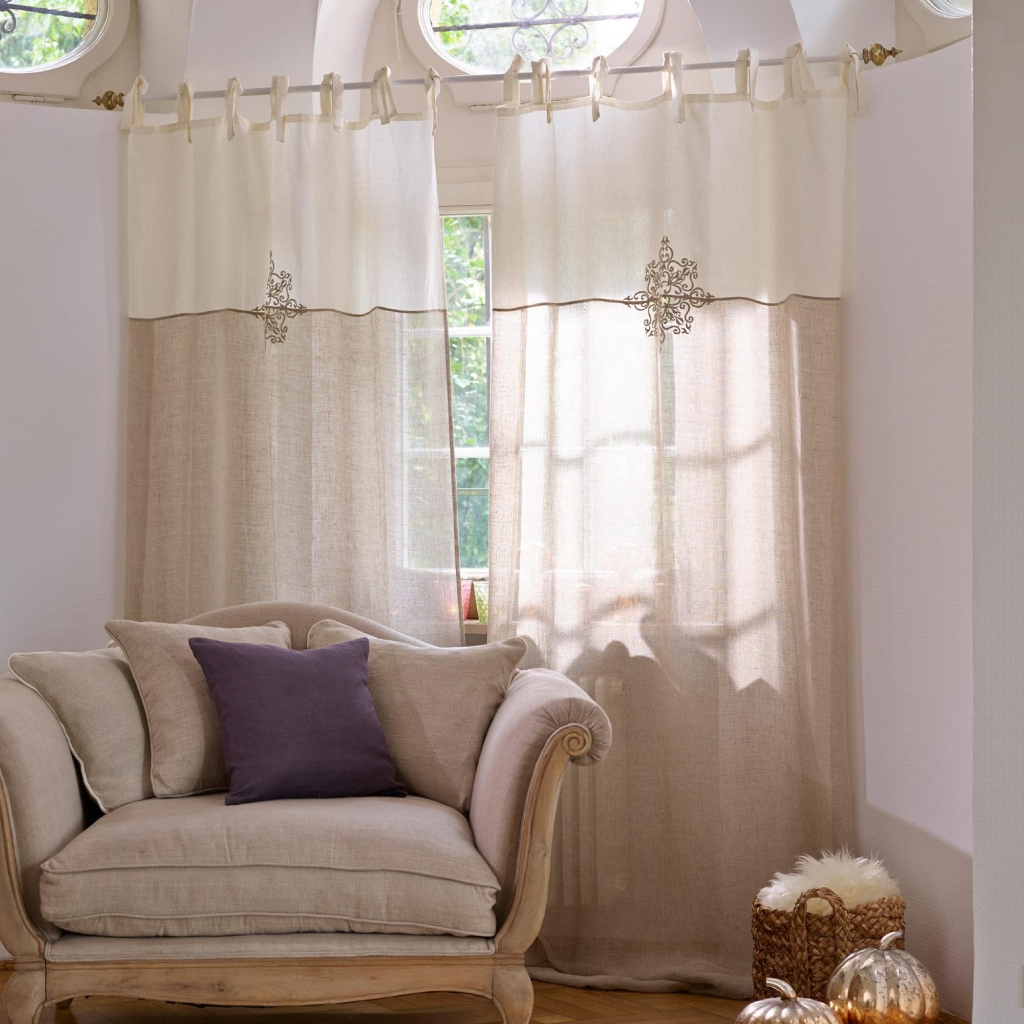 gardine malandry loberon coming home. Black Bedroom Furniture Sets. Home Design Ideas