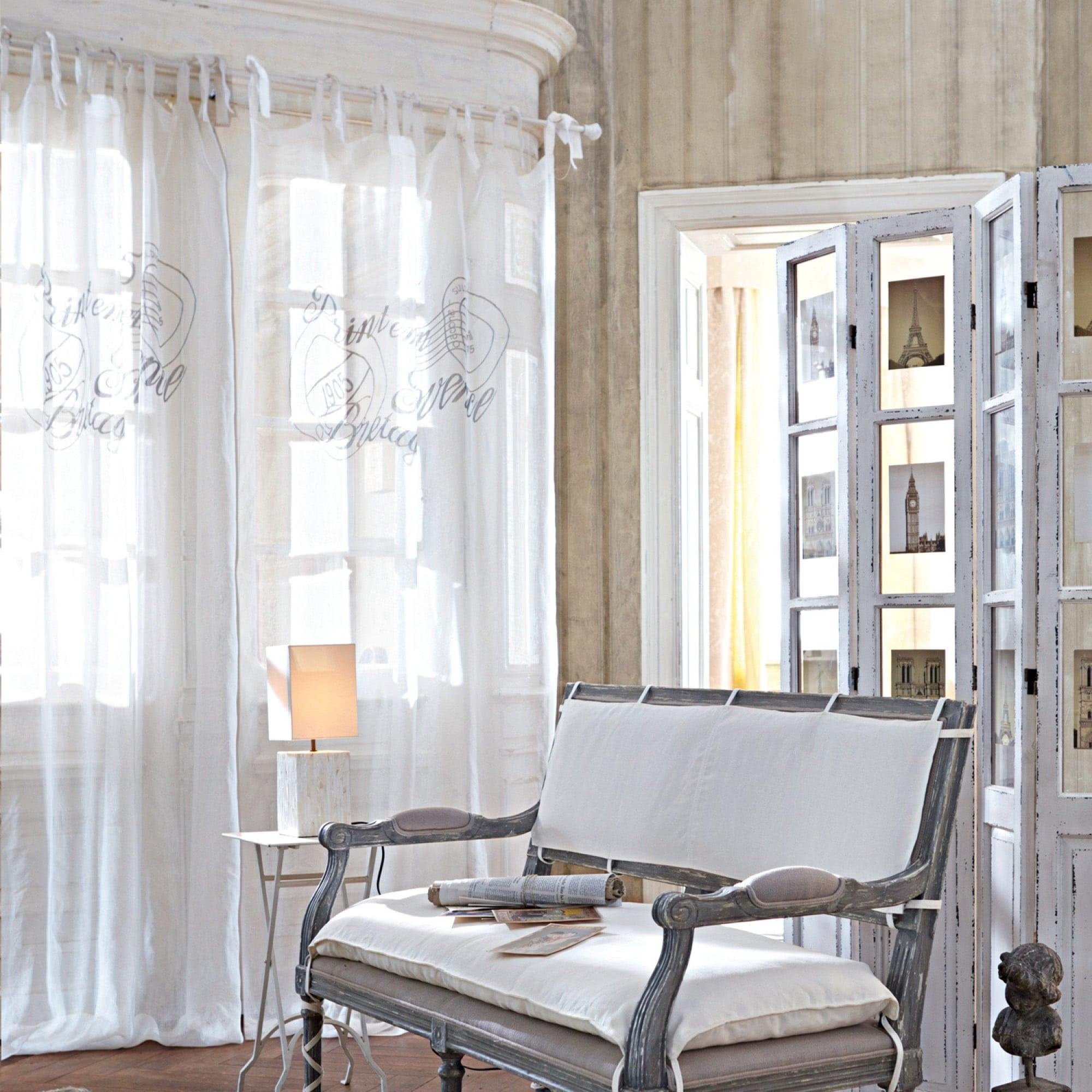gardine bretagne loberon coming home. Black Bedroom Furniture Sets. Home Design Ideas